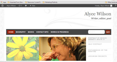 Alyce's Web site